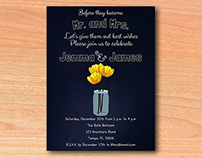 Couples or Bridal Shower Invitations