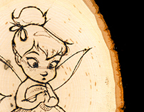 Pyrography - Commission Woodburns