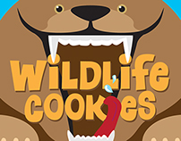 Alaska Wildlife Cookies packaging