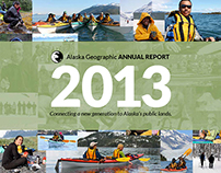 2013 Alaska Geographic Annual Report