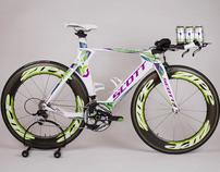 Linsey Corbin Tri Bike