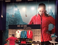 ASICS Retail In-Store & Installation Graphics