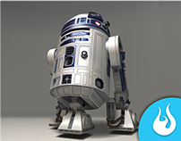 R2D2 Vector Illustration