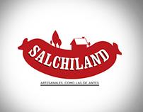 Salchiland - Brand Identity
