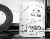 Taste your Music - Mug