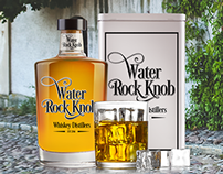 Branding & Package Design for Water Rock Knob