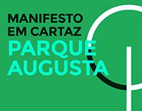 Manifesto em Cartaz Parque Augusta