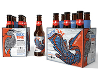Stony Creek Brewery Dock Time Amber Lager Packaging