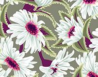 Teteaweka Daisy Floral Print