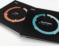 Circle Monthly Calendar