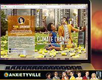 Anxietyville – Web Design