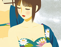 Female Illustration - Dreamy