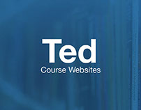 Ted Course Websites App Concept