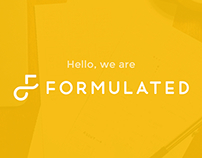 Formulated Design Rebranding