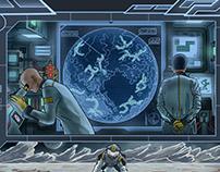 Illustration The Ouroboros Universe - Ksaiber detection