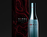 GORAL VODKA - Unique package design