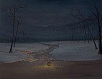 Düşen Kar 10 | Falling Snow 10