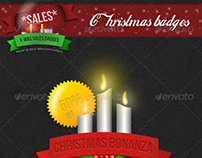 Christmas Badges For Sale Promotion