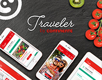 Traveler by Continente Responsive website