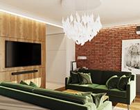 Interior design: House in Oradea, Romania