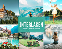 Free Interlaken Mobile & Desktop Lightroom Presets