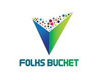 Floks Bucket Logo Design