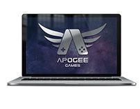 Website concept for Apogee Games