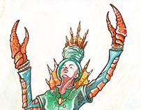 Femme-homard