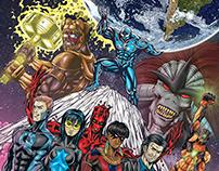 Capa HQ/Comics OS NOVOS ATLANTES