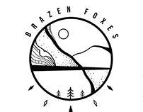 Graphic Design for Brazen Foxes Band