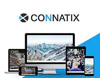CONNATIX - logo & website
