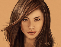 ANNE CURTIS PORTRAIT