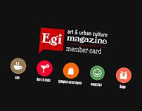EgiMagazine - Member Card Animation