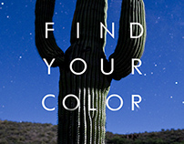 Trailer Theme book #1 'Find your color'