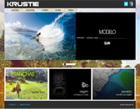 Web - layout | Krustie surfboards