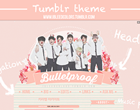 Tumblr blog Layout Design 2015