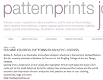 PatternPrints Journal