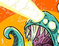 Laser beam kraken