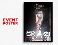 Dj Skazi Event Flyer