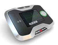 Dispositivo ECG con stampante integrata