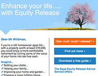 Saga Equity Release Responsive Email