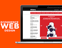 Ecommerce Website UI