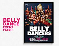 Belly Dance Group Flyer