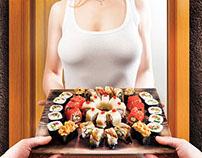 Delivery service of Japanese cuisine  «Yaposhka»