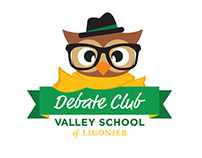 Junior High Debate Club Logo