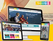 VakantieXperts Webdesign Concept