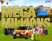 Mega Millions Print campaign pitch