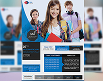 Education Fair Event Flyer Template