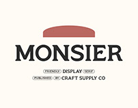 Monsier – Friendly Display Serif (Free Download)