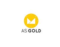 As Gold- Branding